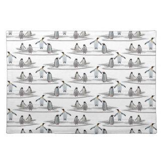 Salvamanteles Fiesta Placemat del iceberg del pingüino (elija el