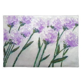 Salvamanteles Flores púrpuras