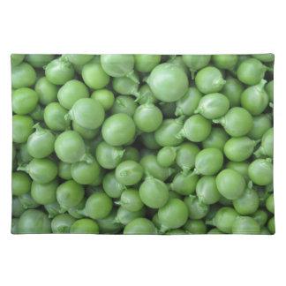 Salvamanteles Fondo del guisante verde. Textura de guisantes