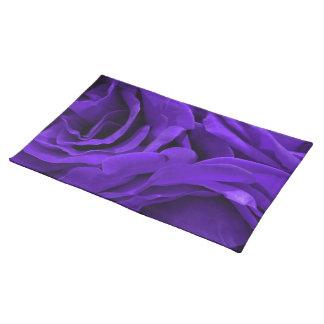 Salvamanteles Foto púrpura brillante delicada de la flor de los