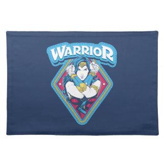 Salvamanteles Gráfico del guerrero de la Mujer Maravilla