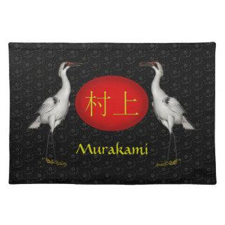 Salvamanteles Grúa del monograma de Murakami
