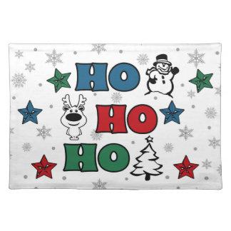Salvamanteles Ho-Ho-Ho diseño del navidad