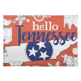 Salvamanteles Hola Tennessee