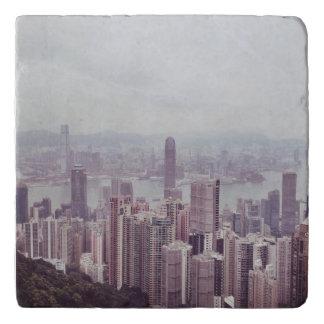 Salvamanteles Horizonte Trivet de Hong Kong