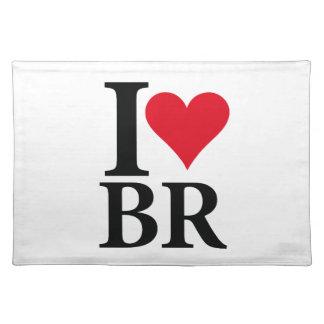 Salvamanteles I Love Brasil BR Edition