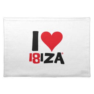 Salvamanteles I love Ibiza 18IZA Edición Especial 2018