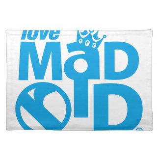 Salvamanteles I Love Madrid Crown & Sign ED.