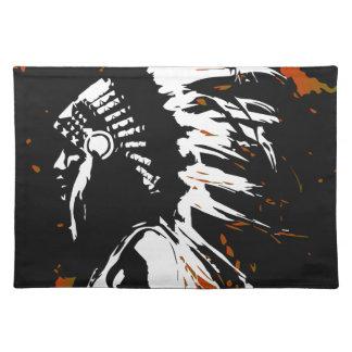 Salvamanteles Indio del nativo americano