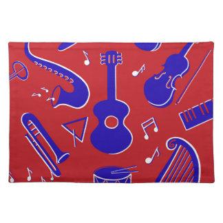 Salvamanteles Instrumentos musicales
