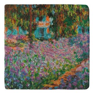 Salvamanteles Iris en el jardín de Monets