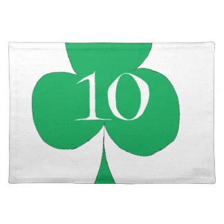 Salvamanteles Irlandés afortunado 10 de los clubs, fernandes