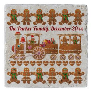 Salvamanteles La fiesta de Navidad de las galletas del pan de