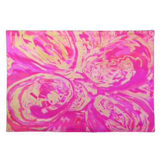 Salvamanteles La joya multicolora entonó el paño rojo Placemats