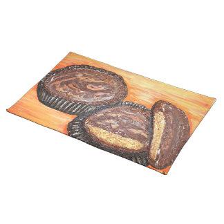 Salvamanteles La mantequilla de cacahuete ahueca el placemat del