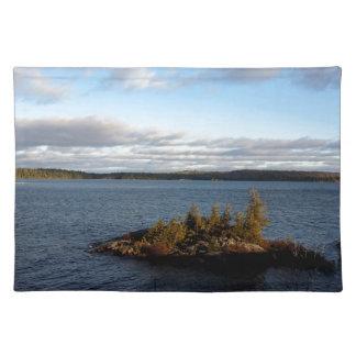 Salvamanteles Lago septentrional ontario
