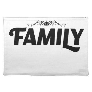 Salvamanteles las mejores cosas de la vida son familia