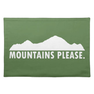 Salvamanteles Las montañas satisfacen