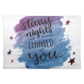 Salvamanteles Las noches estrelladas no son nada comparada a