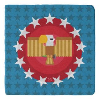 Salvamanteles Libertad Eagle (azul) - Trivet