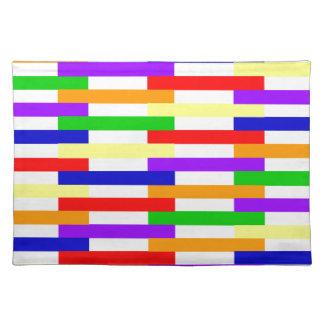 Salvamanteles Línea multicolora diseño