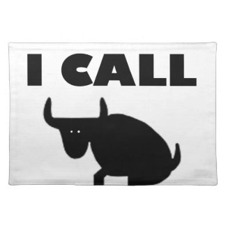 Salvamanteles lo llamo fuerza del toro