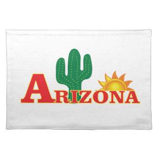 Salvamanteles Logotipo de Arizona simple