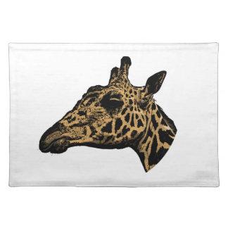 Salvamanteles Logotipo de la jirafa