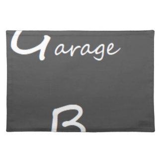 Salvamanteles Logotipo de los muchachos del garaje