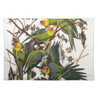 Salvamanteles Loro de Carolina - John James Audubon (1827-1838)