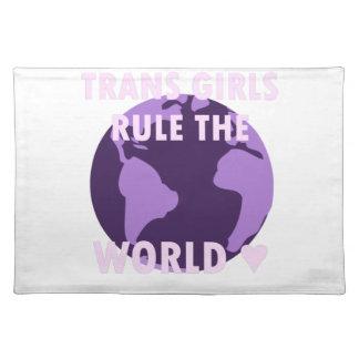 Salvamanteles Los chicas del transporte gobiernan el mundo (v1)