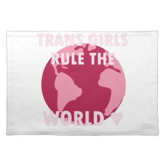 Salvamanteles Los chicas del transporte gobiernan el mundo (v2)