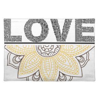 Salvamanteles love mandala