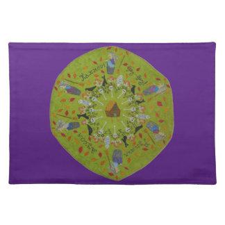 Salvamanteles Mandala de Yaga del bizcocho borracho