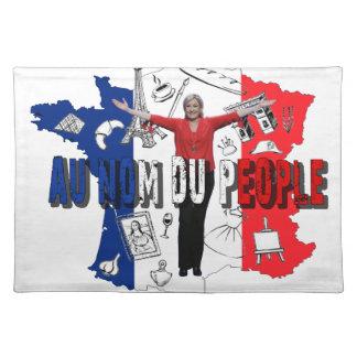 Salvamanteles Marine Le Pen