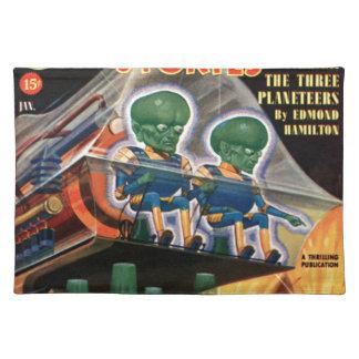 Salvamanteles Martian van para un paseo