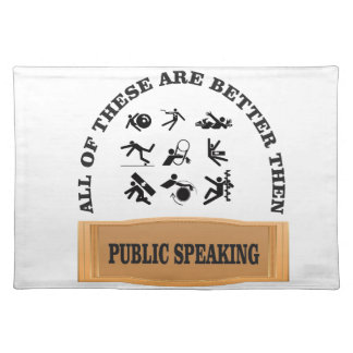 Salvamanteles mejore entonces el discurso público