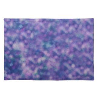 Salvamanteles Moda fresca de moda rosada púrpura azul
