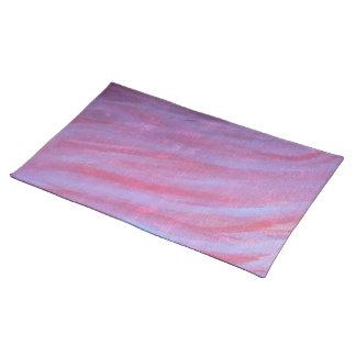 Salvamanteles Moda púrpura rosada adaptable del estilo el   de