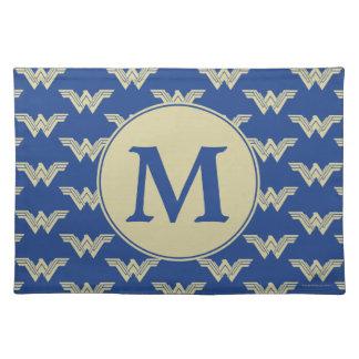 Salvamanteles Modelo del logotipo de la Mujer Maravilla del