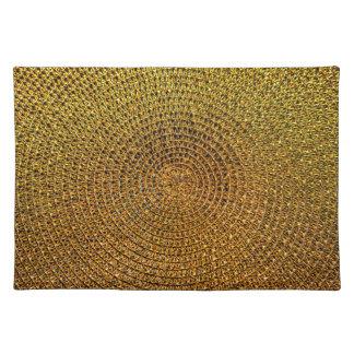 Salvamanteles Modelo espiral del oro
