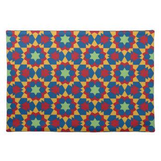 Salvamanteles modelo geométrico islámico