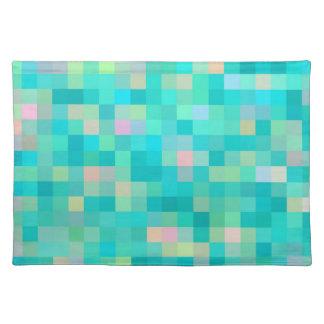 Salvamanteles Modelo multicolor del arte del pixel
