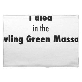 Salvamanteles Morí en la masacre de Bowling Green