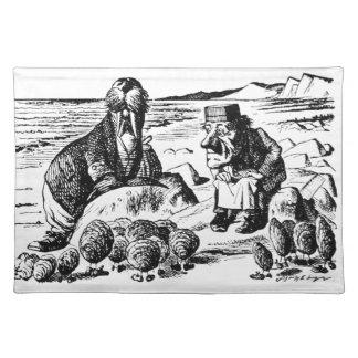Salvamanteles Morsa, Carpeter y ostras