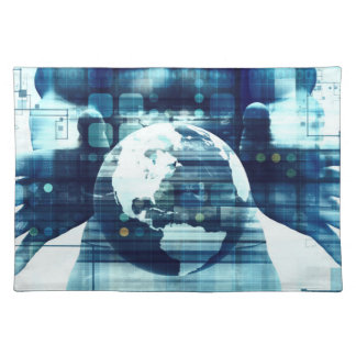 Salvamanteles Mundo de Digitaces e industria de la forma de vida