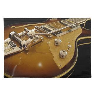 Salvamanteles Música rock de la música del instrumento de la