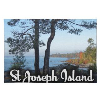 Salvamanteles Opinión de la isla de San José