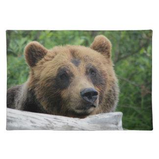 Salvamanteles Oso grizzly de Alaska, el Kodiak