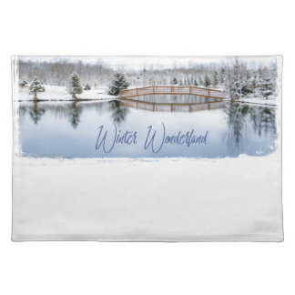 Salvamanteles País de las maravillas del invierno